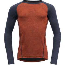Devold Duo Active Shirt Herre brick/ink